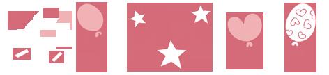 estrellas-corazones-globos